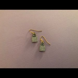 Gorgeous Crystal square drop earrings ✨